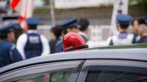 【広島】タクシーに急停車 79歳女性乗客ケガ