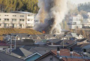 【茨城】家に火をつけ86歳女性を殺害 息子逮捕