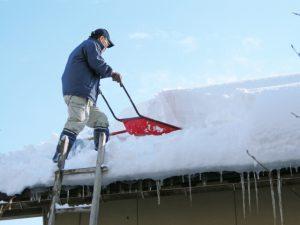 【山形】88歳男性雪に埋もれ死亡 雪下ろし中に転落か