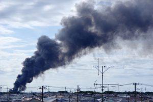 岐阜:安八町の住宅で火事 81歳男性と連絡取れず
