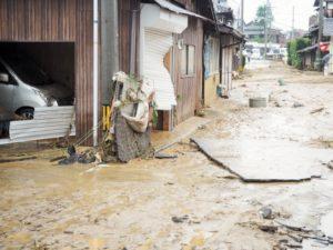 台風19号 福島県で高齢者の犠牲相次ぐ 浸水で溺死